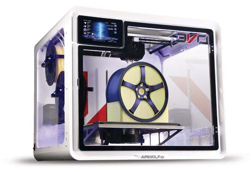 AirWolf3D第5世代3Dプリンタ EVO